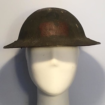 WWI Canadian 13th Battalion (Royal Highlanders of Canada) Helmet  - Military and Wartime