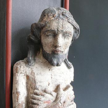 a little older jesus sculpture - Figurines