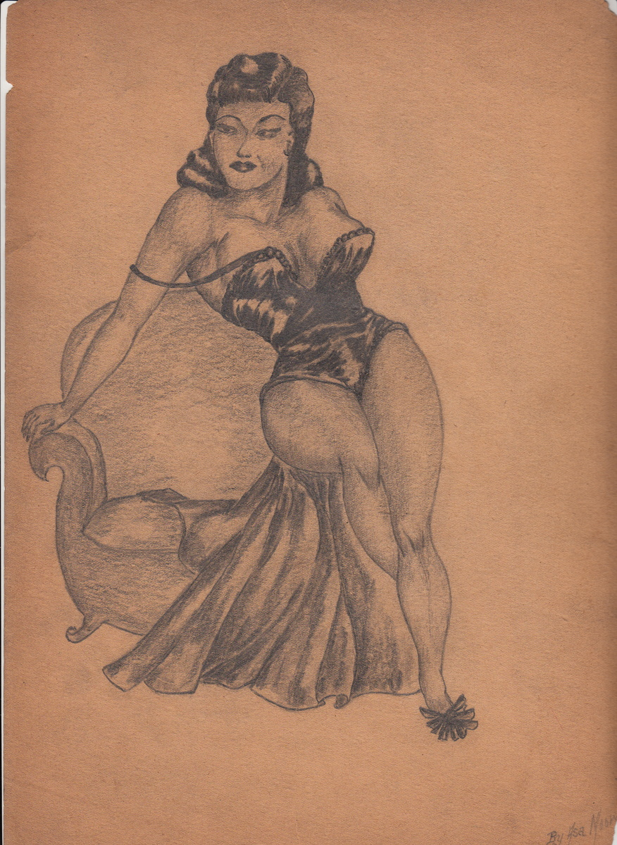African american erotic drawings