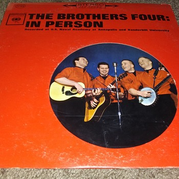 The Brothers Four...On 33 1/3 RPM Vinyl - Records