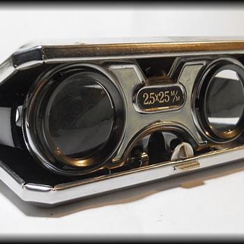 Vintage - Folding Binoculars // Sport Glasses // Opera Glasses - Tools and Hardware