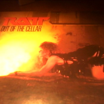 "Ratt  ""Out of the Cellar"""