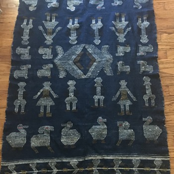 Native American wool blanket??? - Rugs and Textiles