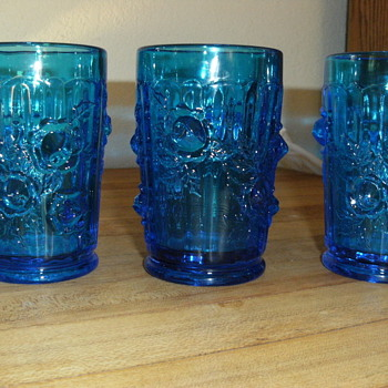 Cobalt Blue Glasses - Glassware