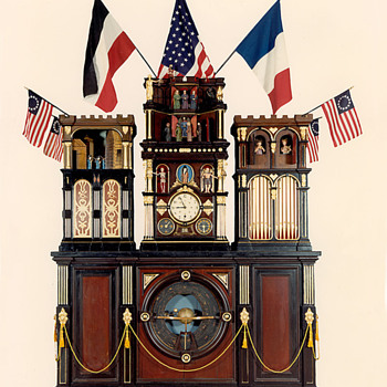 Engle Monumental Clock - Clocks