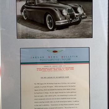 JAGUAR NEWS BULLETIN THE NEW JAGUAR XK 150 CONVERTABLE AND HARDTOP COUPE