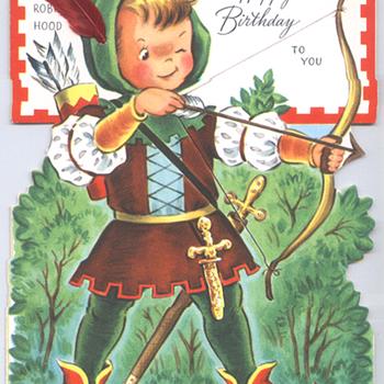 Robin Hood | Fairfield Birthday Story Card