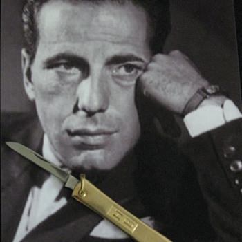 Humphrey Bogart . . . Personal Pocket Knife - Tools and Hardware