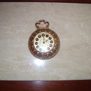 Mauthe West Germany Small Clock - Clocks