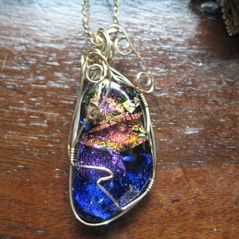 DICHROIC pendant - Costume Jewelry