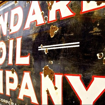 Standard Oil...love this sign! - Signs