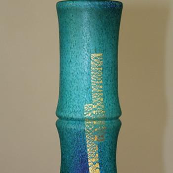 Iwata Hisatoshi Glass Vase 1980s - Art Glass