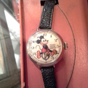 1936 English Ingersoll Mickey Mouse wristwatch - Wristwatches