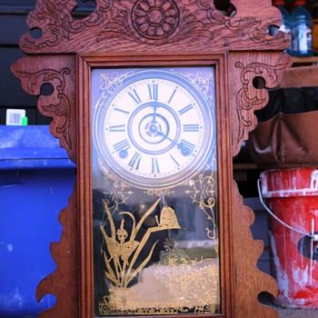 Antique Sessions Gingerbread clock - Clocks