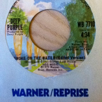 Deep Purple 45 Record