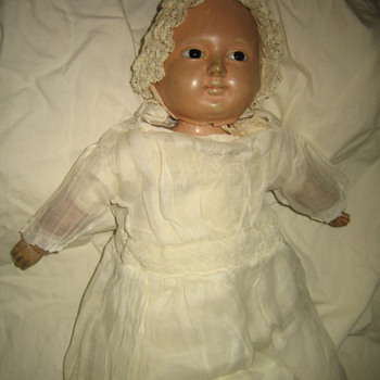 Very Old Bisque doll - Dolls