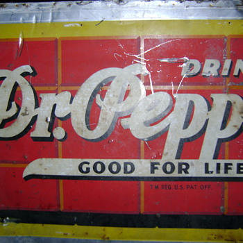 Dr. Pepper Sign (well, part anyway) - Advertising