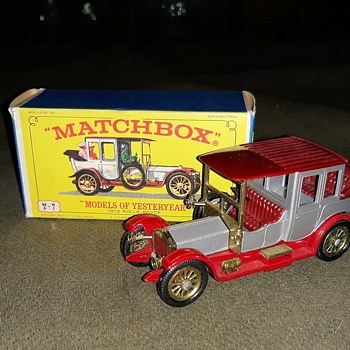 Magnificently Mobile Motoring Matchbox Monday Matchbox Of Yesteryear Y-7 1912 Rolls Royce - Model Cars