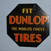 My grandpas Octagon Dunlop Tires sign