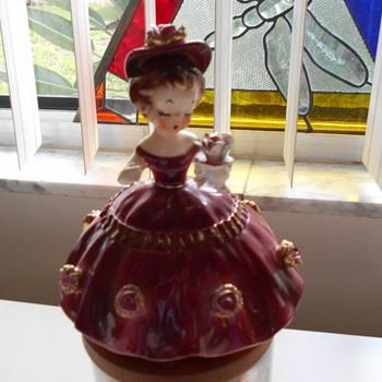 """La Femmes girl  6"""" figurine - Figurines"""