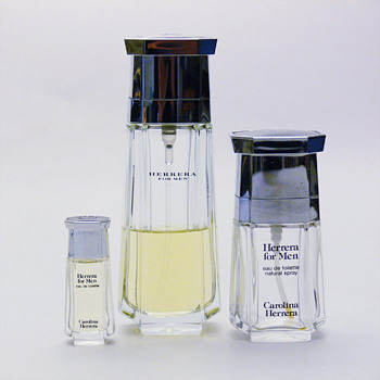 Some perfume bottles for Carolina Herrera by André Ricard. - Bottles