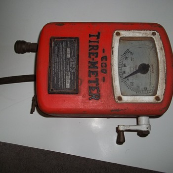Very Early Eco Tire Meter - Tools and Hardware