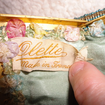 My New Old Olette Purse...does anyone know about Olette???