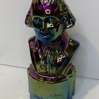 L.E. Smith George Washington  - Glassware