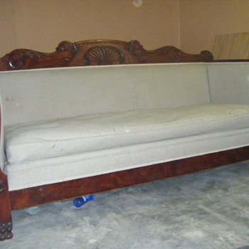 Antique Sofa Mystery - Furniture