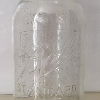 Ball's last wax sealing fruit jar - Bottles