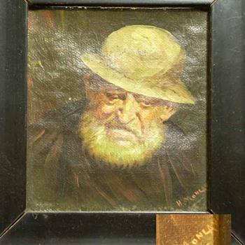 Oil Painting - Folk Art