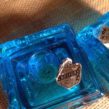 Belfor Blue bricks???? - Art Glass