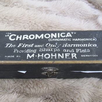 Hohner Chromatic harmonica from around 1918 - Music Memorabilia