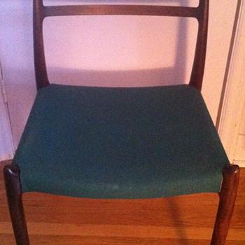 J.L Moller chair model 78.
