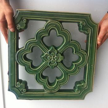 Large ceramic tile ?  - Pottery