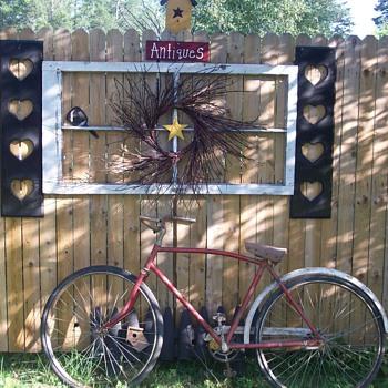 Old Bike in Canada