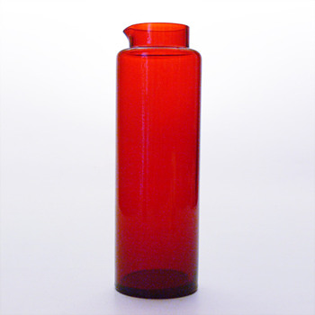 Mistery red jug - Art Glass