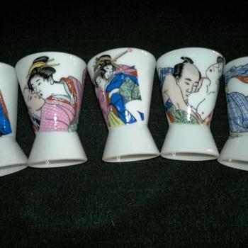 Japanese Erotic Sake Cups