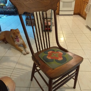 I purchased this chair about a month ago and I'm trying to figure out some information on it - Furniture