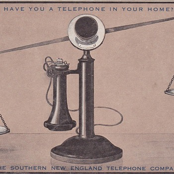 SNET Postcard  - Telephones