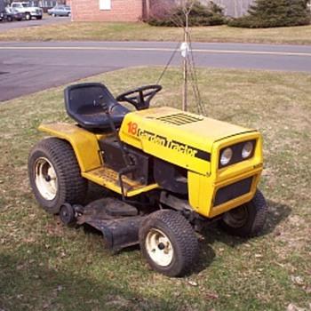 JC Penney riding lawn mower