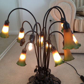 lily lamp