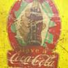 Vintage Coca-cola sticker