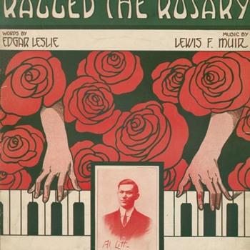 WHEN RAGTIME ROSIE RAGGED THE ROSARY SHEET MUSIC, 1911 - Music Memorabilia