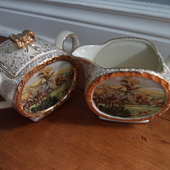 Vintage Cream and Suger 'Sadler'  - China and Dinnerware