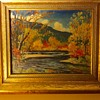 Vermont oil painting