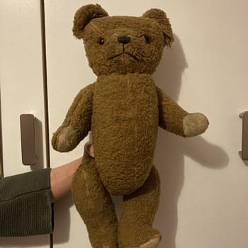 Can anyone identify my Mum's teddy? - Dolls