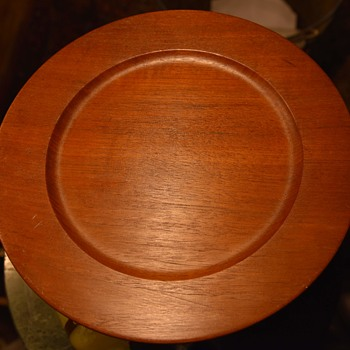 Teak Plate from Denmark - MCM - Furniture