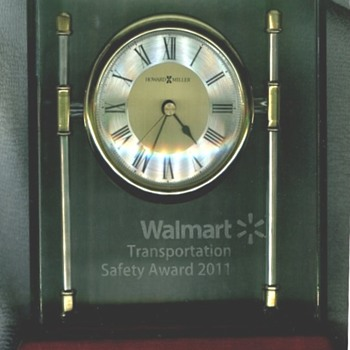 Walmart Award Clock - Advertising