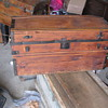 Two what I believe to be Barrell Stave Trunks
